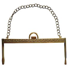 Purse Frame Only For Making Purse Sewing Vintage late 1950s Early 1960s