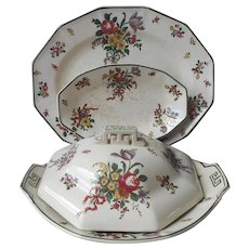 Royal Doulton Old Leeds Sprays Miscellaneous Antique 1912 China