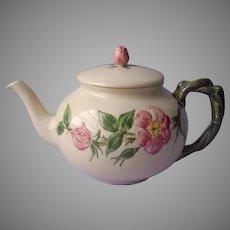 Desert Rose Franciscan Teapot  Old Mark Vintage As Is TLC