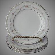 Noritake Fairmont 4 Bread Plates Vintage China