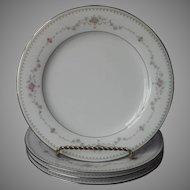 Noritake Fairmont 4 Salad Plates Vintage China