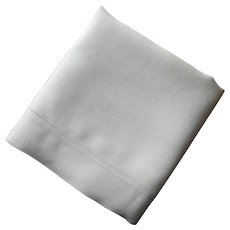 Linen Pillowcase Single Vintage 1920s Plain And Simple