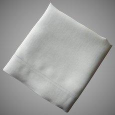 Linen Pillowcase Single Vintage 1920s Plain And Simple
