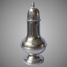 English Muffineer Sugar Shaker Vintage Silver Plated Classic Breakfast Table Item