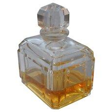 Baccarat Perfume Bottle Vintage Caron Bellodgia 3.27 Ounce