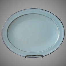 Noritake Wedding Veil Platter Vintage 13.75 x 11 Inches