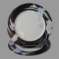 Mikasa Charisma Black 2 Dinner Plates