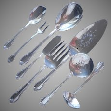 Remembrance 1948 Serving Flatware Pie Tomato Server Platter Spoon Jelly Pickle Fork Etc