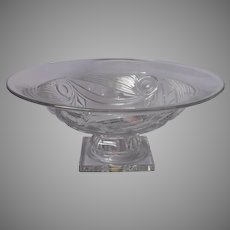 Heisey Ipswich Console Centerpiece Bowl Vintage Use For Serving