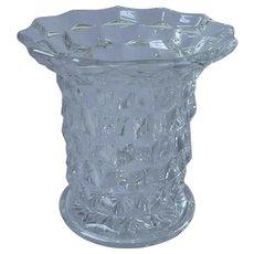 Fostoria American Vase Vintage Flared