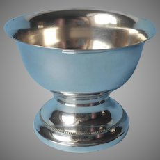 European Silver Plated Nut Candy Bowl Vintage Pedestal Berliner Electro Plated Waren Fabrik
