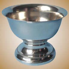 European Silver Plated Nut Candy Bowl Vintage Pedestal Berliner Electro Plated Waren Fabrik