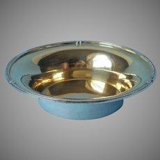 800 Silver Bowl Vintage H. Meyen Company Berlin 181 Grams Gold Wash