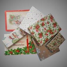 Vintage Boxes Christmas Paper Cardboard