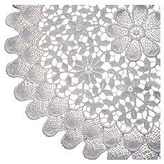 Fine Cotton Chemical Lace Doily Vintage