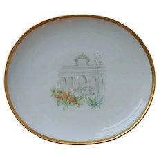 Pin Dish Oranges Summer House Heinrich Bavaria Porcelain Vintage