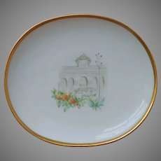 Pin Dish Oranges Summer House Heinrich Bavaria Porcelain Vintage