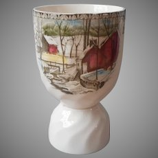 Friendly Village Egg Cup Vintage Johnson Brothers England