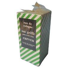Carven Ma Griffe Vintage Unopened Eau De Cologne In Box 1.5 Ounce