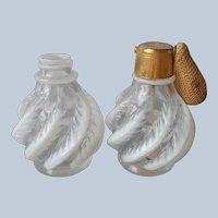 DeVilbiss Opalescent Perfume Bottle Atomizer Vintage One With No Lid