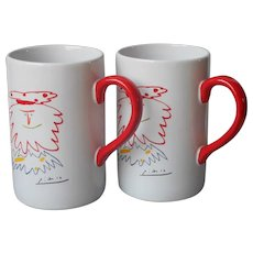 Picasso Living Mugs Mug Masterpiece Editions The King 1962 Pair