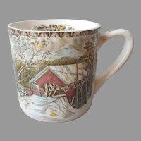 Johnson Brothers Friendly Village Mug Vintage England