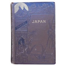 Victorian Book Japan In Our Day 1881 Antique Bayard Taylor