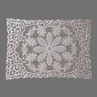 Lace Tray Cloth Tray Doily Vintage
