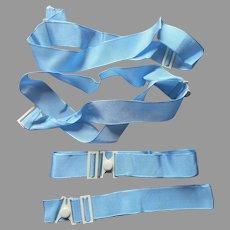 Vintage Ribbon Straps Garters To Hold Sets Of Linens Napkins Sheets Duvet Etc