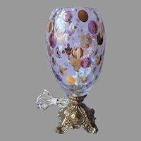 Borske Sklo Nemo Lamp Vintage Mid Century Glass