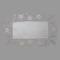 Macrame Lace Tape Braid Centerpiece Runner Vintage European
