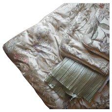 Croscill Iris Brocade Queen Comforter Pair Shams Bed Skirt