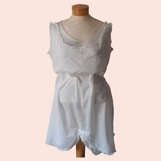 Edwardian All In One Camisole Antique Early Step In