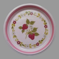 Mikasa Berry Patch Salad Dessert Plate Vintage Country Store
