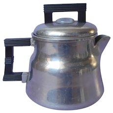 Small Percolator Coffee Pot Wearever 3002 Stove Top Camping Vintage Camper Aluminum