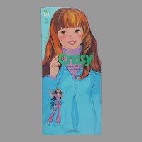 Crissy Paper Doll Book Uncut Whitman Ideal Vintage 1973