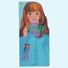 Crissy Paper Doll Book Uncut Whitman Ideal Vintage 1973