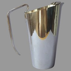 Napier Barware Pitcher Vintage Silver Plated Sleek Simple