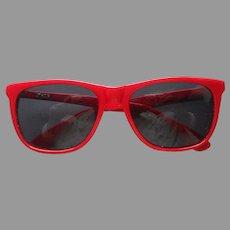 1980s Polo Glasses Frames Red 34 Ralph Lauren Vintage Sunglasses