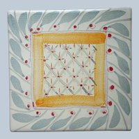 Mackenzie Childs Brighton Pavilion Tile Vintage