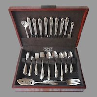 Beloved 1940 Flatware Set Service For 8 Vintage Silver Plated 78 Pieces In Box