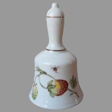 Coalport Strawberry England Bone China Bell Vintage