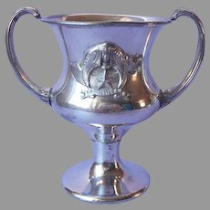 Masonic Shriners 1911 Loving Cup Silver Plated Antique 37th Imperial Council
