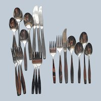 American Charm Stainless Steel 4 Place Settings Grapefruit Spoons International
