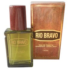 Rio Bravo Unused 3.3 Ounce Eau De Toilette Spray In Box