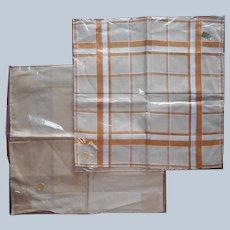 Men's Good Quality Cotton Handkerchiefs Handkerchief Vintage Unused Czech