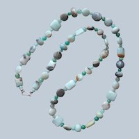 Jay King Amazonite Other Stone Beads Necklace Sterling Desert Rose Trading