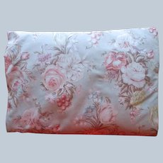 Ralph Lauren Charlotte Fitted Full Double Bed Size Sheet All Cotton Vintage