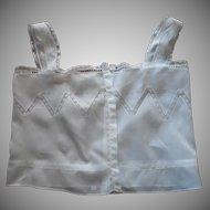 Antique Camisole Lace Insertion and Trim Cotton Batiste