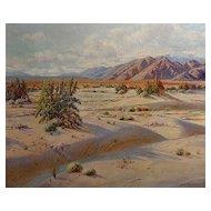 Bertha Faris Davis  California Desert near Palm Springs